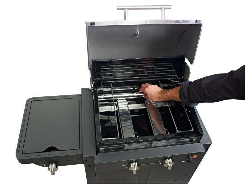 papel aluminio limpieza barbacoas 3 quemadores barbecook. Black Bedroom Furniture Sets. Home Design Ideas