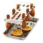 Chicken Wing Rack in Stainless Steel