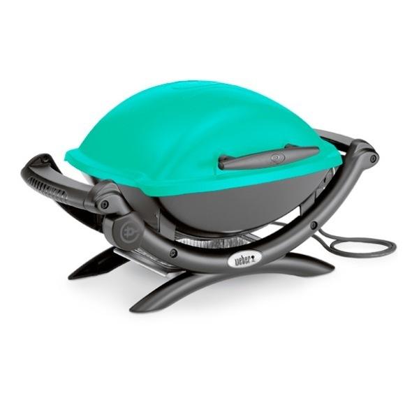 weber q 1400 teal blue bbq the barbecue store spain. Black Bedroom Furniture Sets. Home Design Ideas
