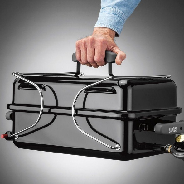Weber Go-Anywhere Portable gas BBQ - The Barbecue Store Spain