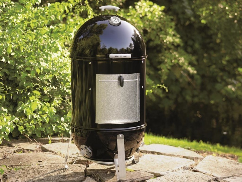 weber smokey mountain cooker 57 cm the barbecue store spain. Black Bedroom Furniture Sets. Home Design Ideas