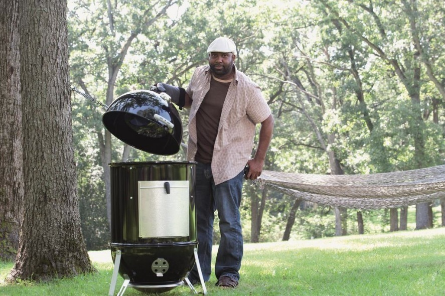 Weber Smokey Mountain 57.Weber Smokey Mountain Cooker 57 Cm The Barbecue Store Spain