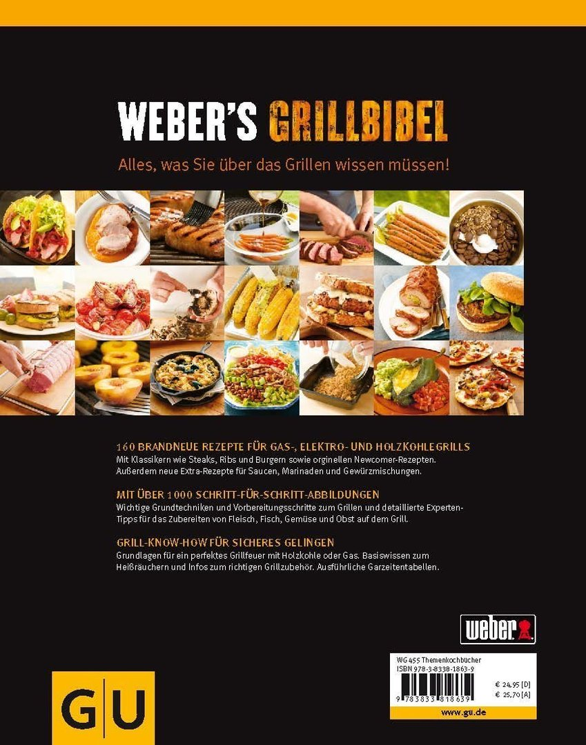 weber s grill bibel book the barbecue store spain. Black Bedroom Furniture Sets. Home Design Ideas