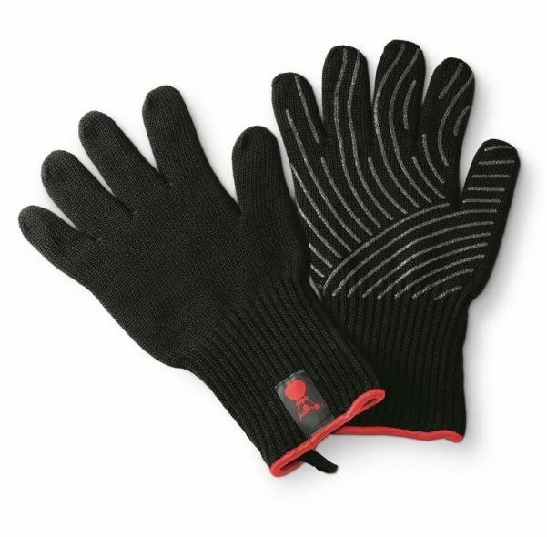 par de guantes premium talla s m weber the barbecue store. Black Bedroom Furniture Sets. Home Design Ideas