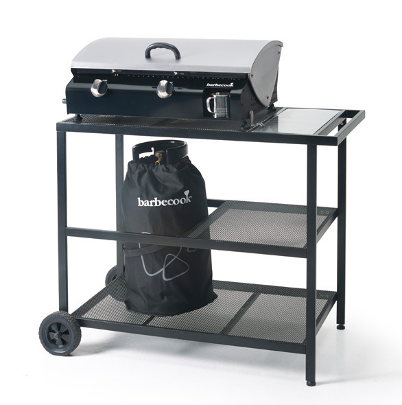 Garden trolley the barbecue store spain - Plancha trolley gas met deksel ...