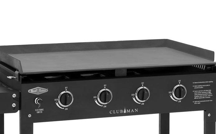 Beefeater clubman plancha de gas de grandes dimensiones - Planchas para cocinar a gas ...