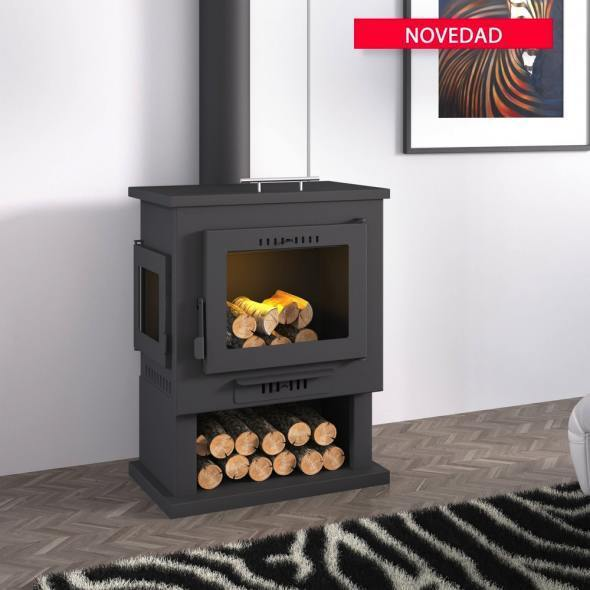 ch 2 wood burning stove the barbecue store spain. Black Bedroom Furniture Sets. Home Design Ideas