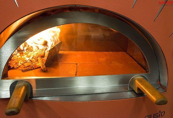 Horno de le a para interior mod gusto top the barbecue - Cocinar horno de lena ...