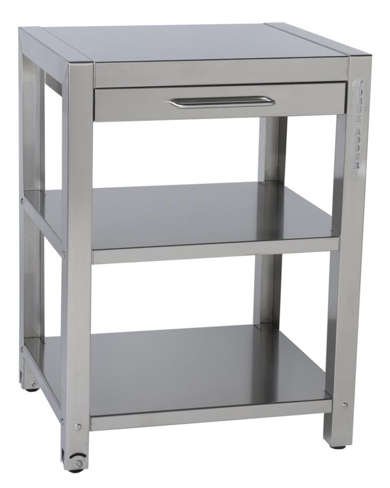 mesa auxiliar acero inoxidable mesas para planchas de gas