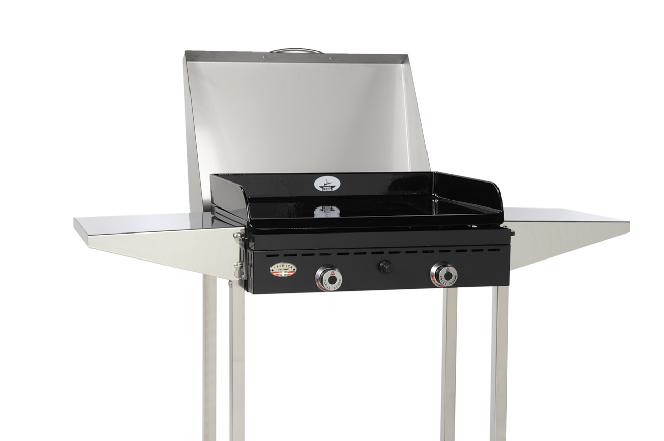 stainless steel hood for gas plancha bbq the barbecue store. Black Bedroom Furniture Sets. Home Design Ideas