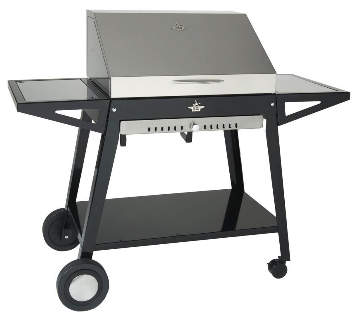 Stainless steel hood for cart with barbecues the - Barbacoas acero inoxidable ...
