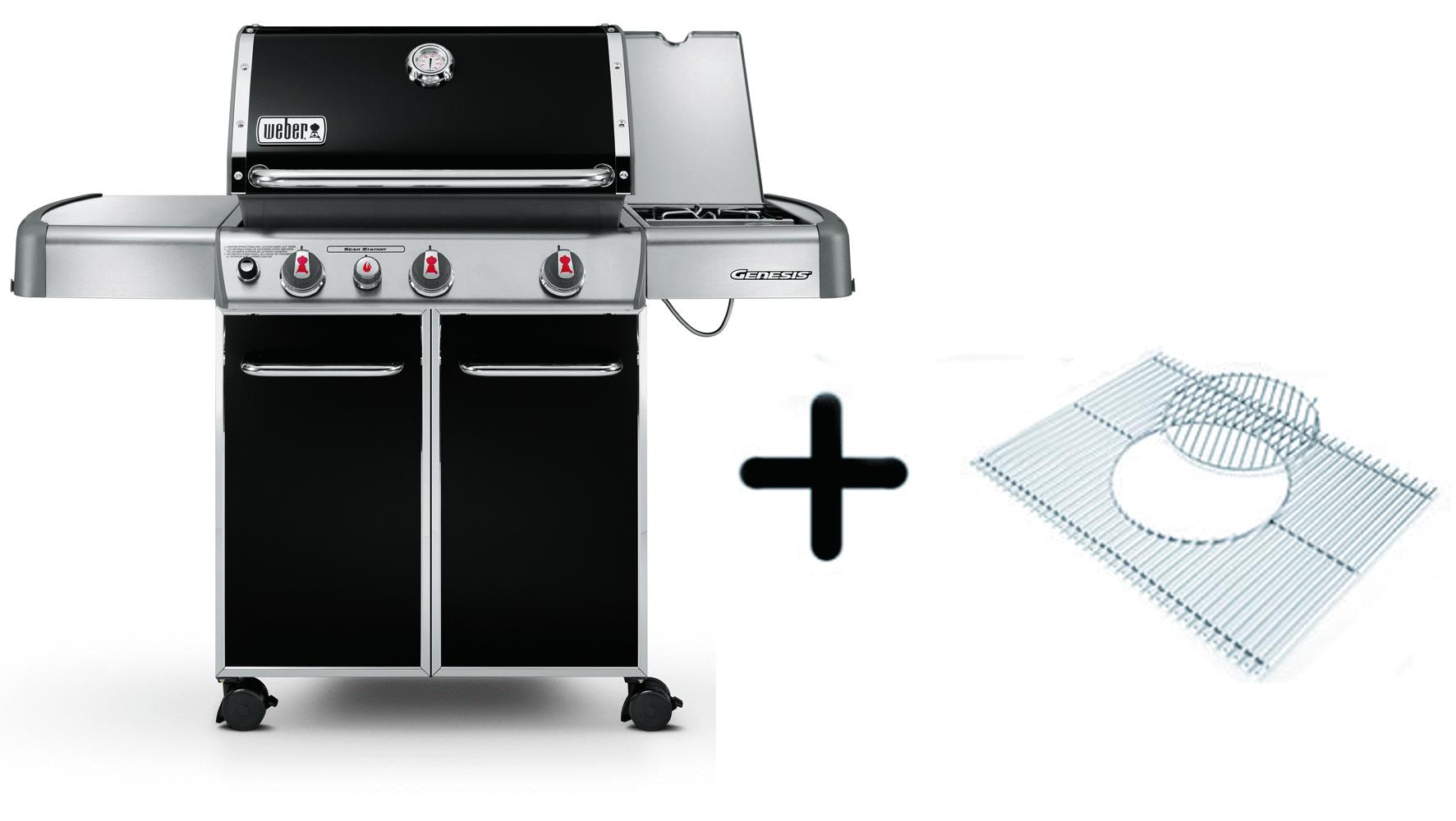 weber genesis e 330 gbs black the barbecue store malaga spain. Black Bedroom Furniture Sets. Home Design Ideas