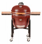 Kamado Monolith Grill Le Chef Proserie 1.0 in Red