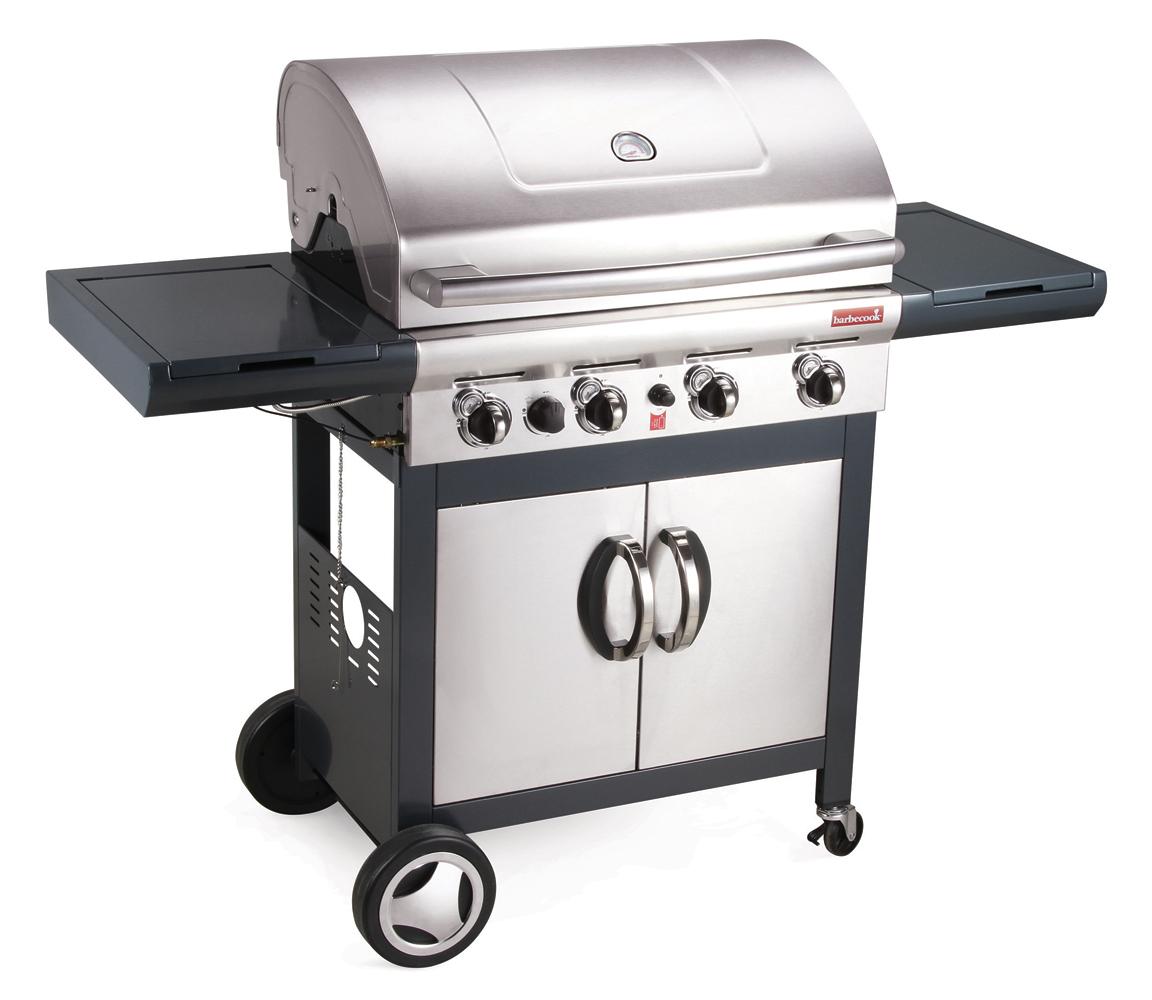 Barbacoa gas banaba 4b acero inoxidable barbecook mejor tienda - Barbacoa acero inoxidable ...
