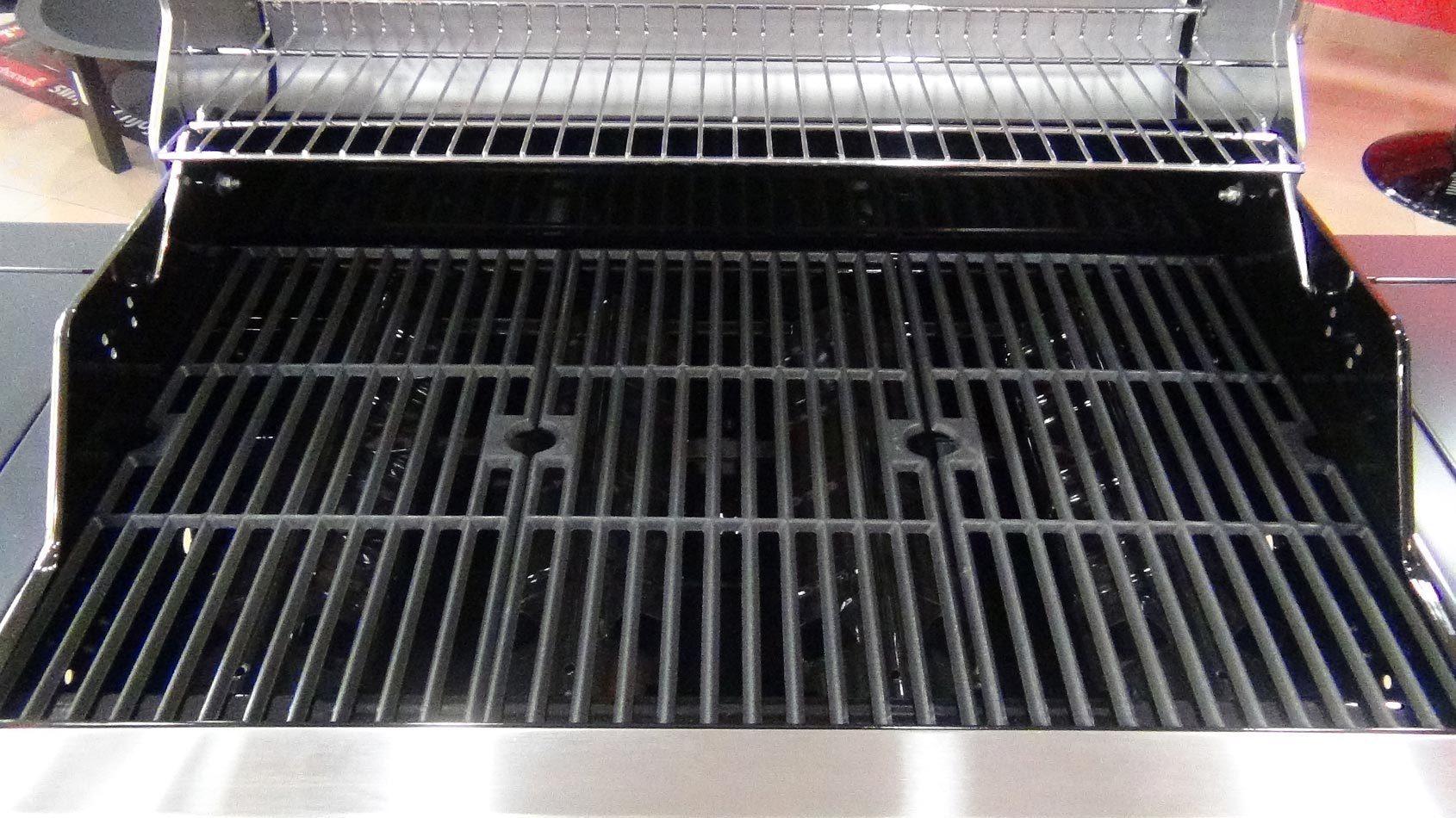 Barbacoa gas banaba 4b acero inoxidable barbecook mejor tienda - Barbacoas hierro fundido ...