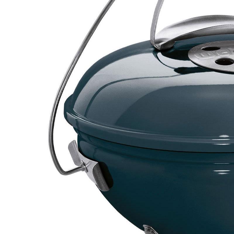 Grill Slate Blue 37cm Weber Smokey Joe Premium Charcoal BBQ