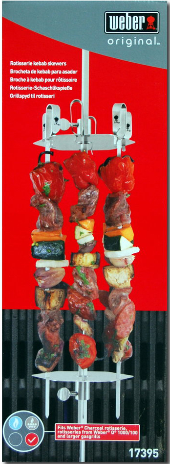 Kendte Weber Rotisserie Skewer System - The Barbecue Store Spain OB-53