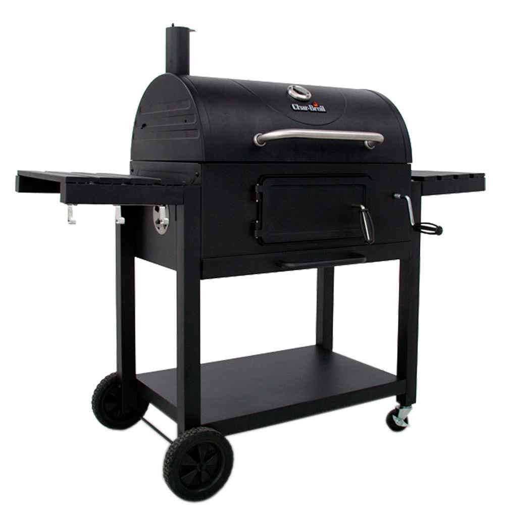 Get the connected advantage from Char-Broil® with this electric smoker that allows you to monitor your cooking no matter where you are! This smoker allows you to track the temperature and receive alerts, and when cooking is complete, the unit adjusts to keep your food warm until you are ready to eat.
