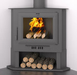 CH-5 Corner Wood Burning Stove