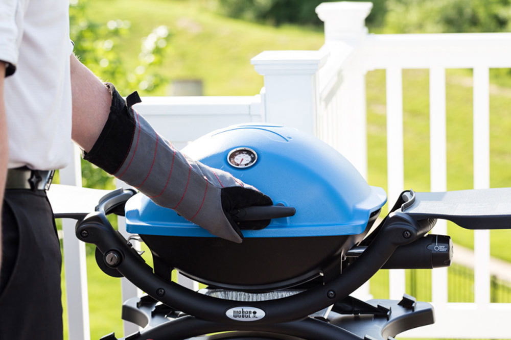 Weber Q 1200 Blue Bbq - The Barbecue Store Spain
