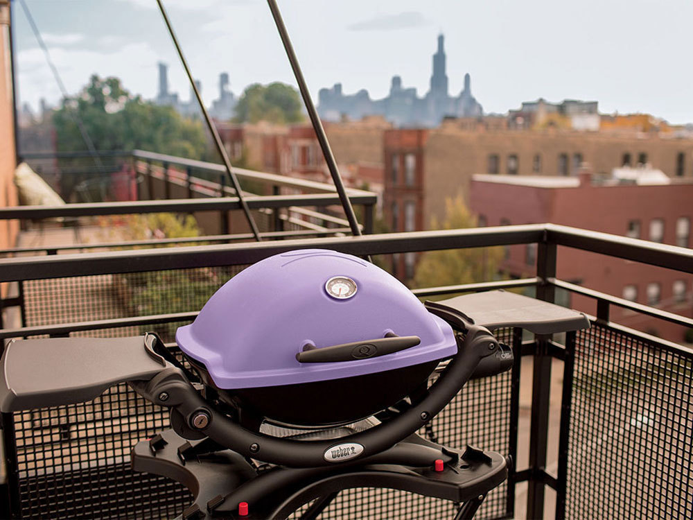 weber q 1200 purple bbq the barbecue store spain. Black Bedroom Furniture Sets. Home Design Ideas