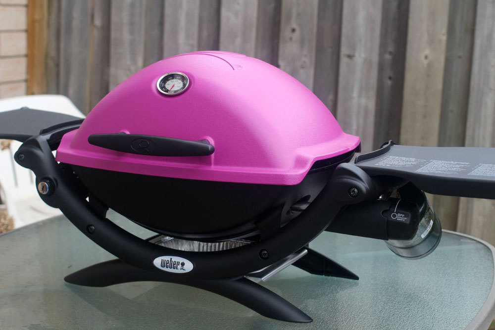 Weber Q 1200 Fuschia Bbq The Barbecue Store Spain