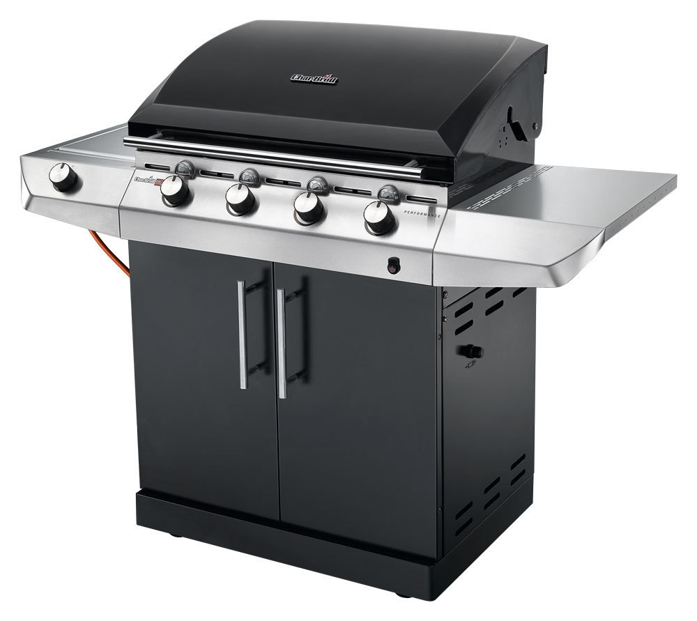 Smuk Char-Broil Performance T-47G Black gas BBQ - The Barbecue Store QS-93