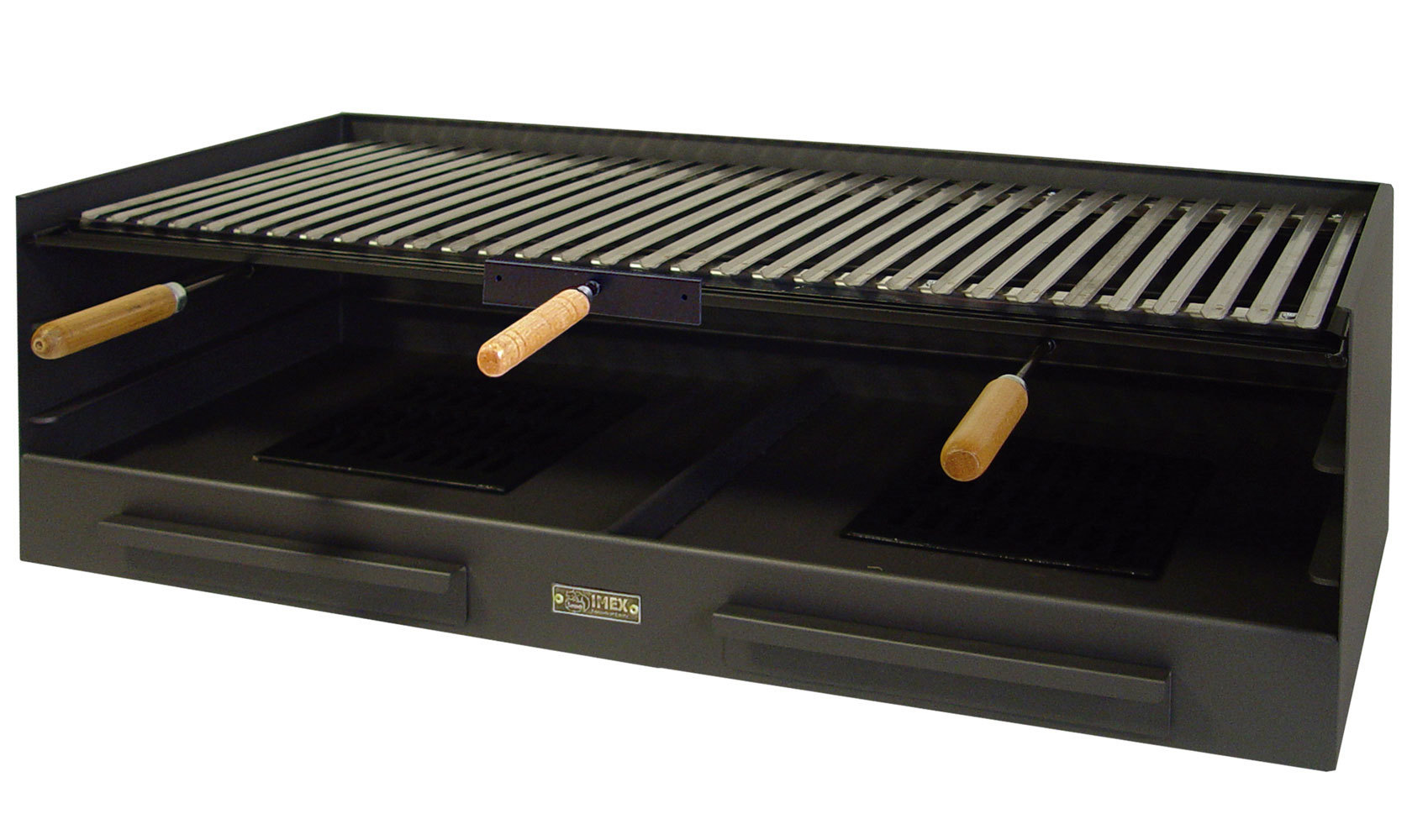 barbecue drawer with steel grill extra large the barbecue store. Black Bedroom Furniture Sets. Home Design Ideas