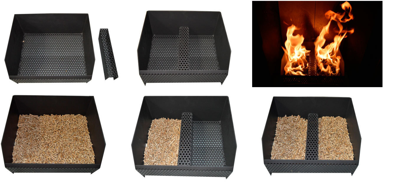 Pellet Burning Basket The Barbecue Store Spain