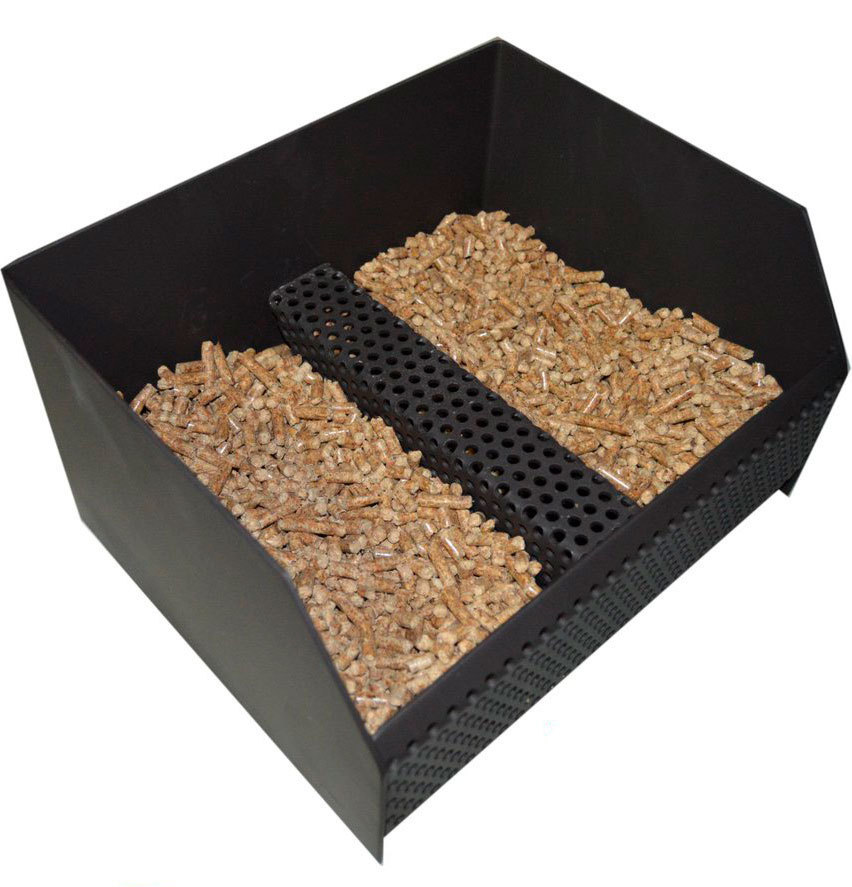 Pellet Burning Basket - The Barbecue Store Spain