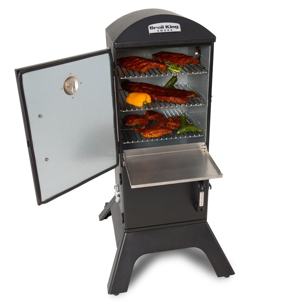 broil king vertical charcoal smoker the barbecue store spain. Black Bedroom Furniture Sets. Home Design Ideas