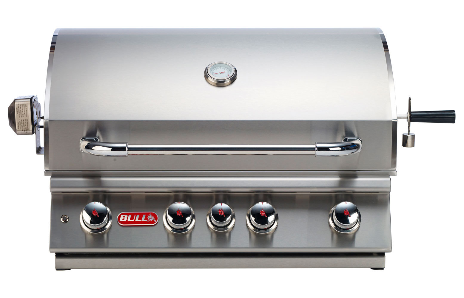 Bull angus built in gas barbecue the barbecue store spain for Giordano shop barbecue a gas