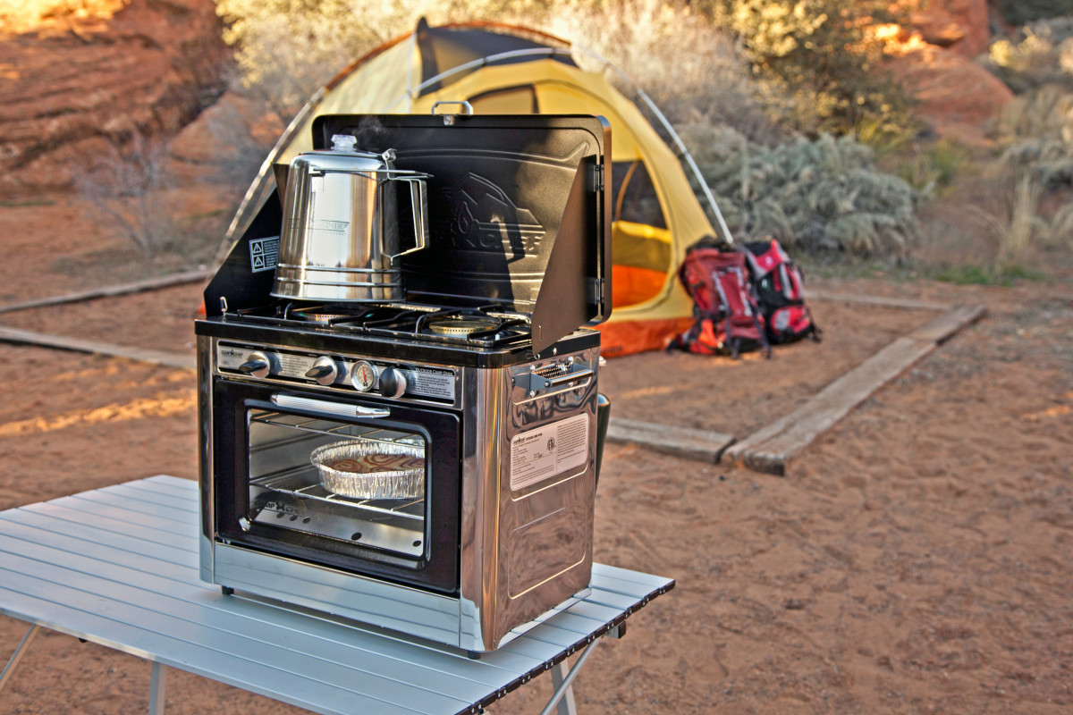 deluxe outdoor camping oven the barbecue store spain. Black Bedroom Furniture Sets. Home Design Ideas
