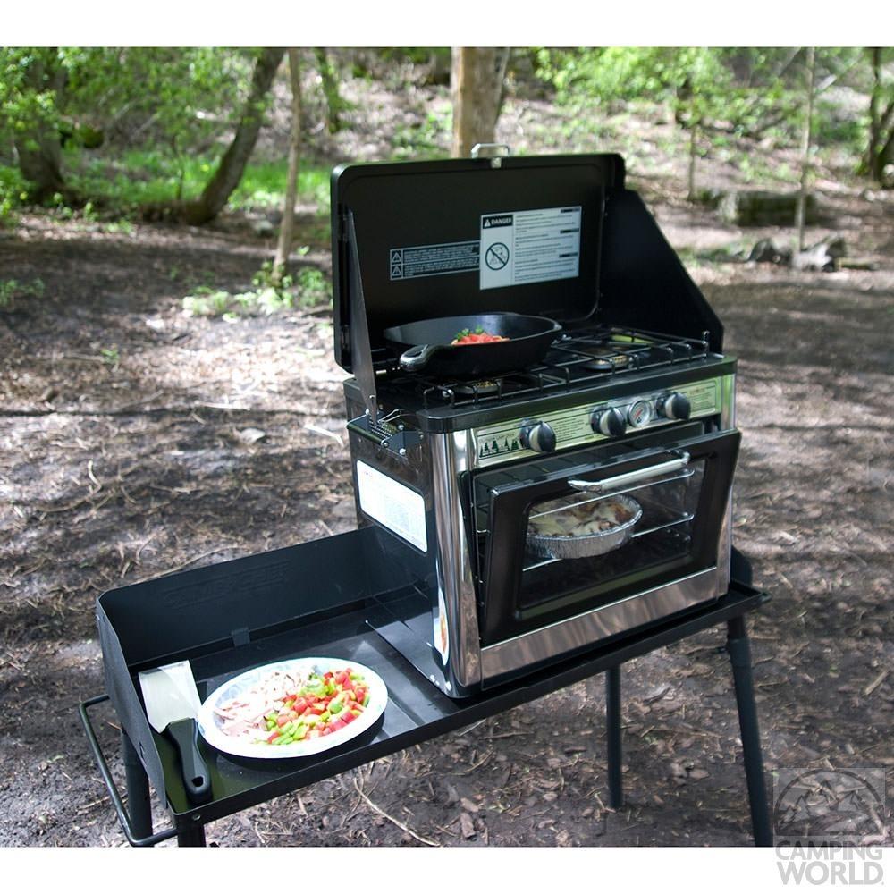 Horno Y Cocina De Gas Para Camping La Tienda M 225 S Grande