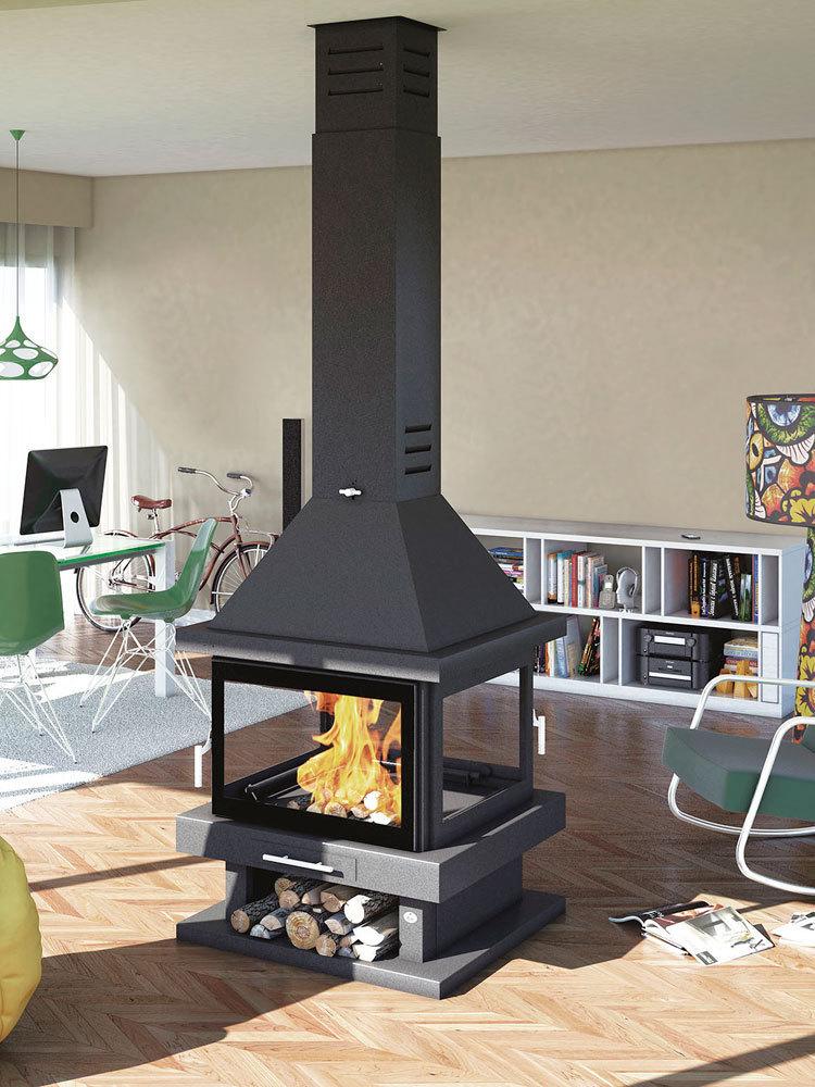 Chimenea de le a modelo c 204 la mejor tienda online de for Construccion de chimeneas de lena