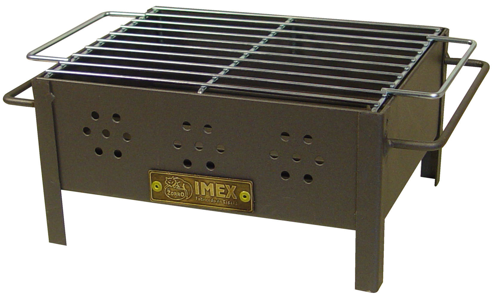 Table Barbecue With Zinc Grill Iii The Barbecue Store Spain