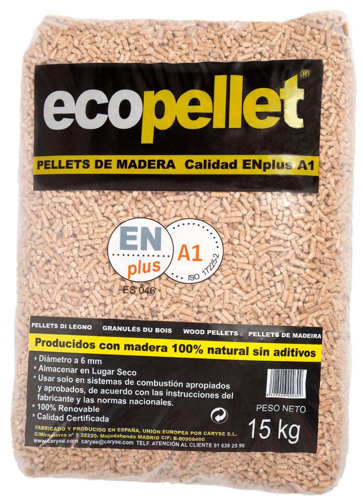 Precio saco de pellets elegant precio saco de pellets - Estufa pellets bricomart ...
