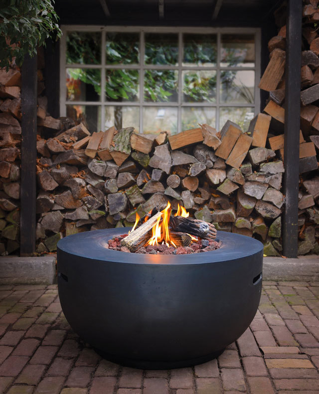 Bowl Gas Firepit Table The Barbecue Store In Spain