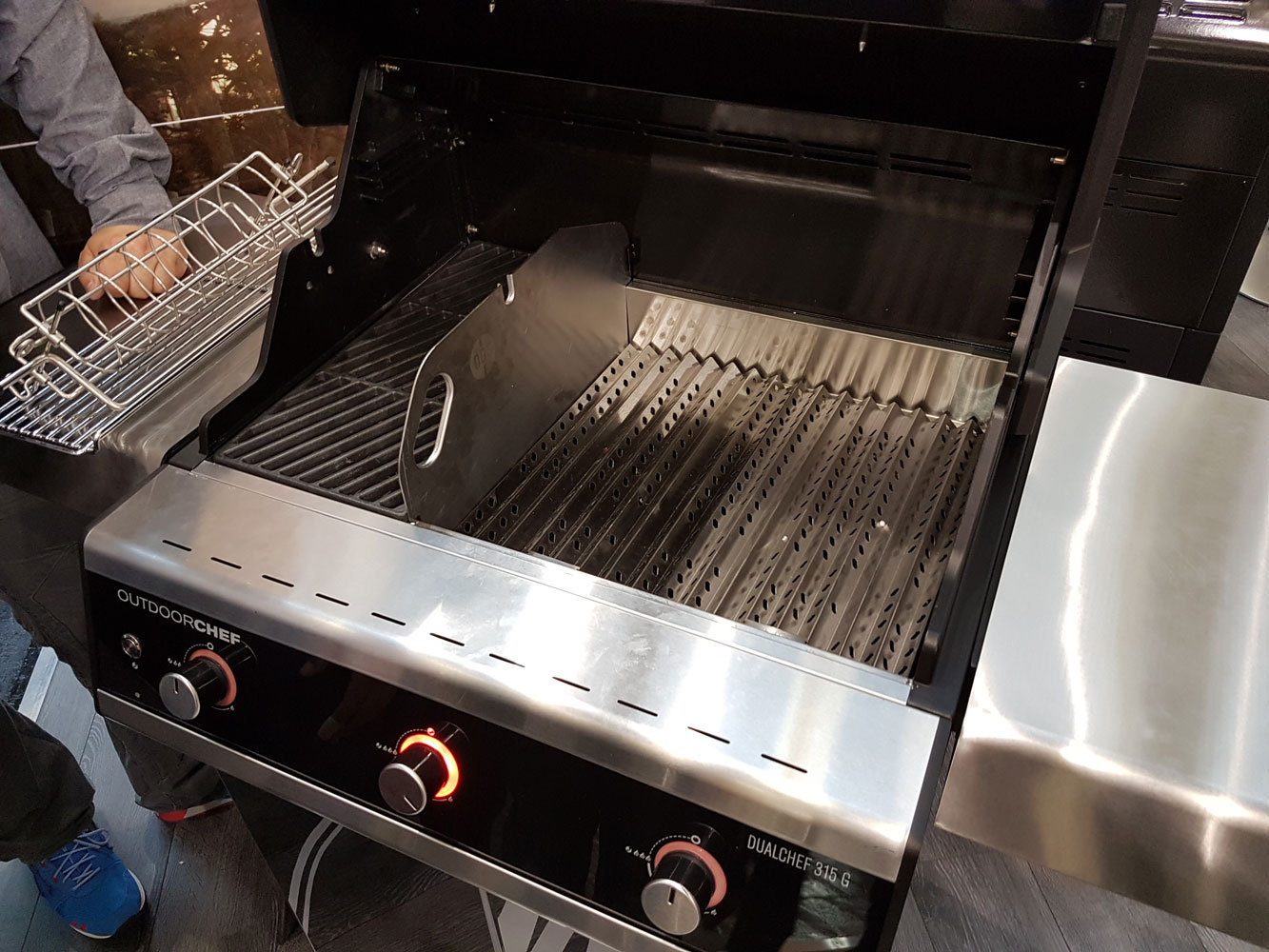 Dualchef 315 G Gas Bbq The Barbecue Store Spain