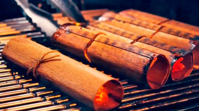 Weber Red Cedar Wood Wraps - The Barbecue Store Spain