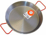 Polished Steel Paella Pan 30 cm.