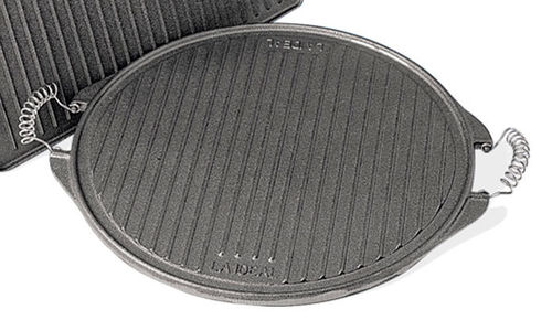 Round Cast Iron Griddle 25 cm. - The Barbecue Store in Spain
